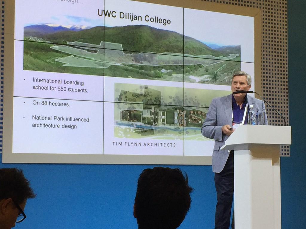 Tim giving presentation 3